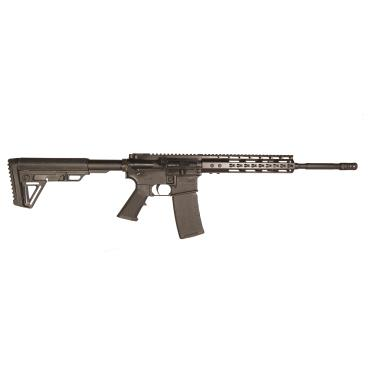 "ATI AR15 MILSPORT  RIA P3P BLK 5.56 16"" BBL 1:8 PHOS 10"" KM ALPHA STOCK NANO PARTS KIT 30RND"