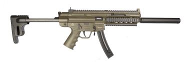 GERMAN SPORT GUNS GSG-16 CARBINE RIA 22LR 16.25 SYN 22-RD GREEN