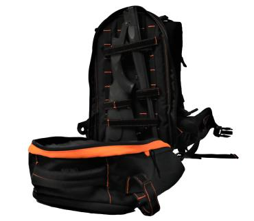 "ATI NOMAD SGS 410GA SINGLE SHOT SHOTGUN 18"" BBL 3"" CHAMBER ORANGE RUKX GEAR SURVIVOR BACKPACK"