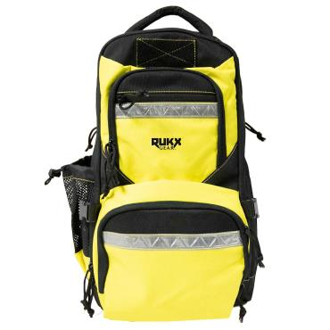 "ATI NOMAD SGS 410GA SINGLE SHOT SHOTGUN 18"" BBL 3"" CHAMBER YELLOW RUKX GEAR SURVIVOR BACKPACK"