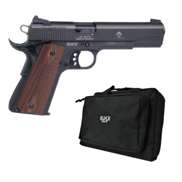 GSG 1911 AND DOUBLE PISTOL CASE BLACK COMBO