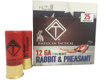 "ATI GAME LOAD 12GA AMO #7.5 1 OZ 2.75 DRAM 2 3/4"" 25/BOX"