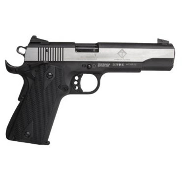 "GSG M1911 HGA 22LR 5"" BL W/ POLISHED SLIDE & BLACK GRIP 10RD"