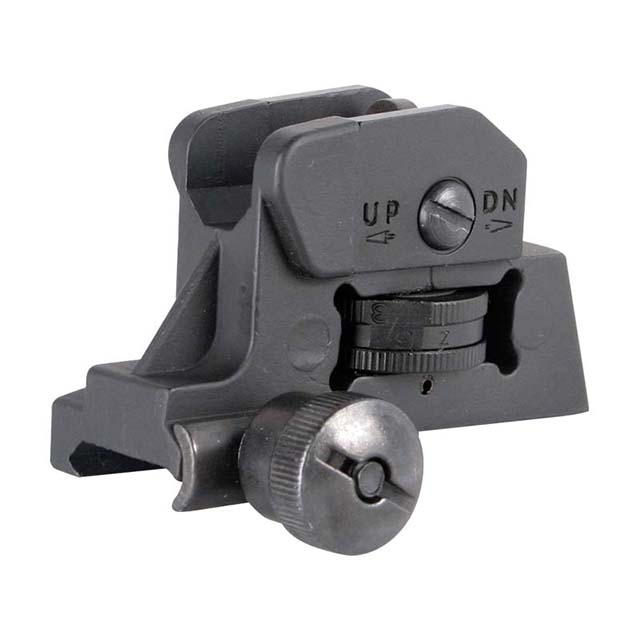 CLOSEOUT - ATI TACTICAL REAR SIGHT AR15 STYLE W/WINDAGE & ELEVATION